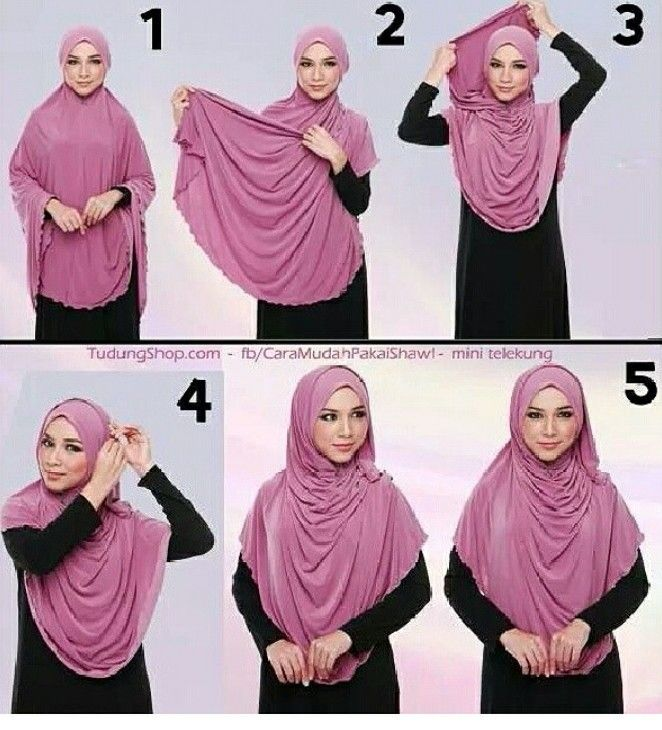 Hijab tutorial (mini telekung)