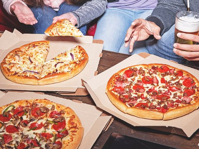 50% Off All Menu-Priced Pizzas At Pizza Hut On May 31, 2017