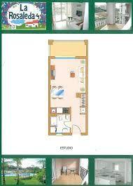 Resultado de imagen para planos apartamentos tipo estudio playa