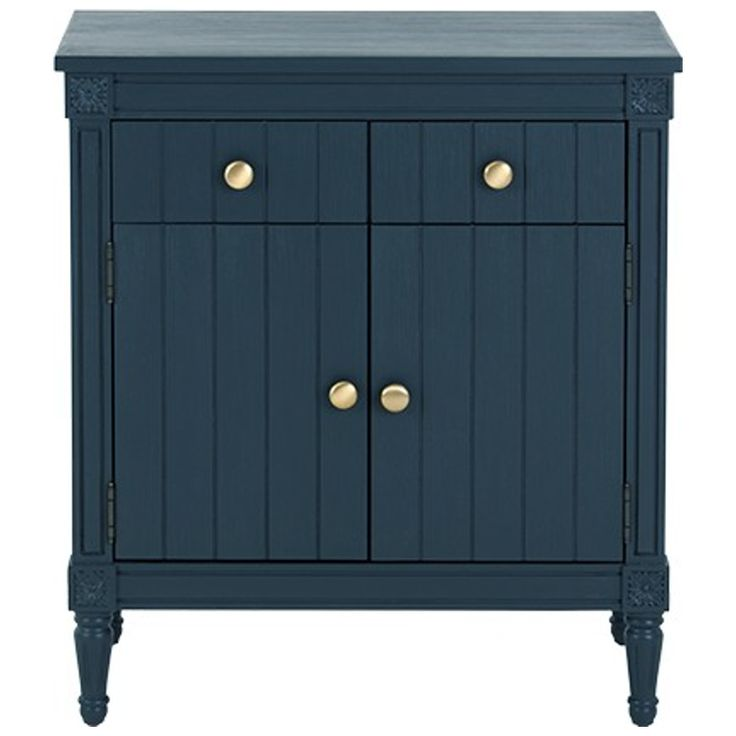 Bourbon Vintage Sideboard, Dark Blue from Made.com. This sideboard adds a hint of vintage style. Inspired by French neoclassical lines and brought u..