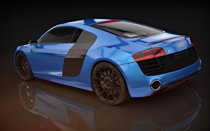 Audi R8 V10 Plus 3ds Max Timelapse Modeling Pinterest