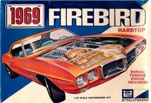 1969 Pontiac Firebird Hardtop (3 'n 1) Stock, Wild Street or Track (1/25) | vintage model kits and hobbies | Pinterest | Model cars kits, Cars and Firebird