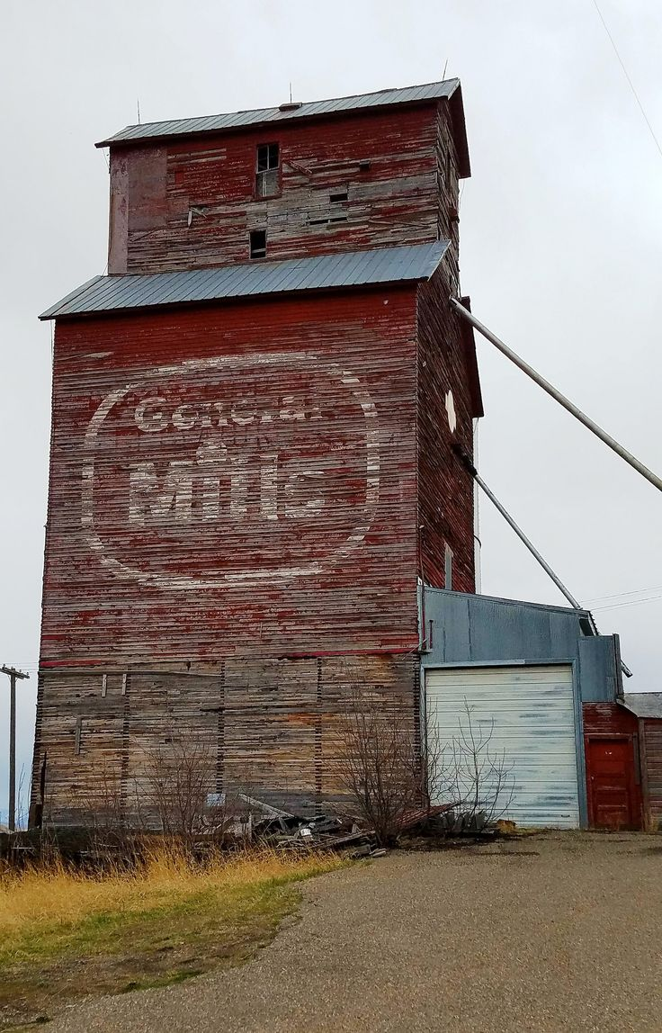 https://flic.kr/p/TE3g6J | General Mills, Belt, Montana | Grain Elevator - Belt, Montana