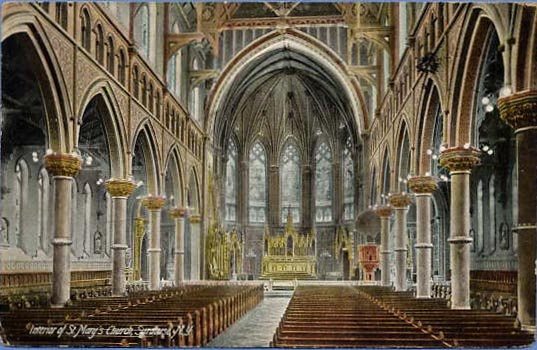 Interior Of St Mary S Church Syracuse New York