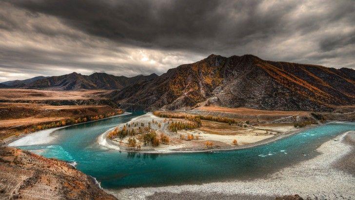 Altai River - Fondos de pantalla HD