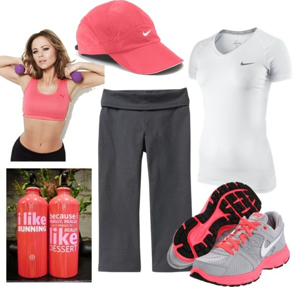 Nike Workout 4, created by qtpiekelso on Polyvore