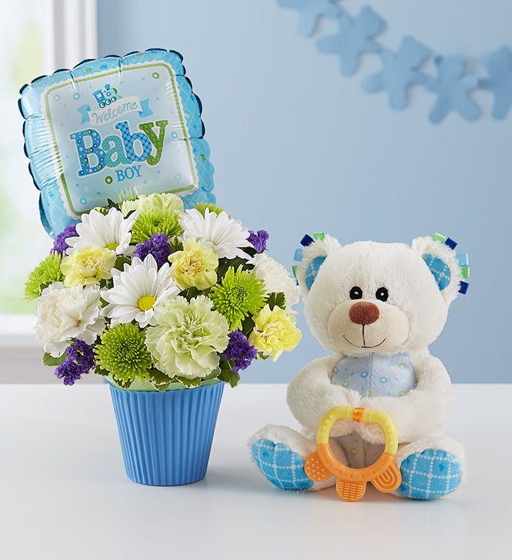 Lotsa Love Welcome Baby Boy New Baby Flowers Welcome Baby Boys Welcome Baby