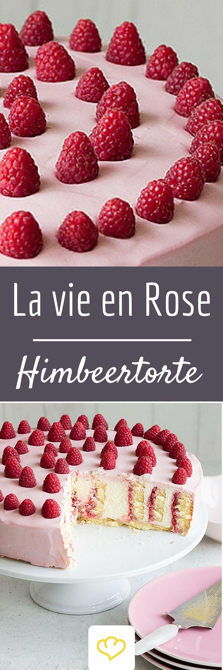 Ein Tortentraum in Rosa! Eine Torte wie gemacht für den Tag der Verliebten!