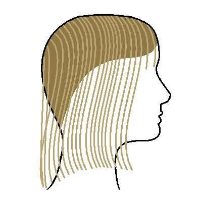 Ponytail Haircut-saw this technique back in the early 90's!  Very easy way to add layers to your own hair and it looks amazing...I did it to my hair this weekend and it looks Marvelous!