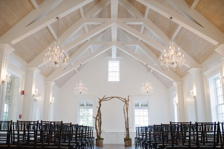 The Villa Blanca | St. Augustine, FL  I LOVE this chapel! So pretty! Plenty of natural light, lovely chandeliers, plenty of space.. perfect.