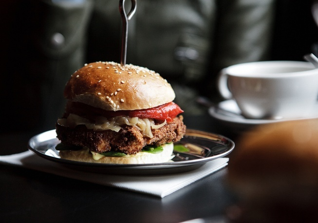 Brother Burger and the Marvellous Brew  Brunswick St, Melb
