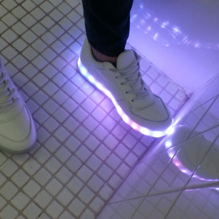 I have always been jealous of those light up shoes for kids...