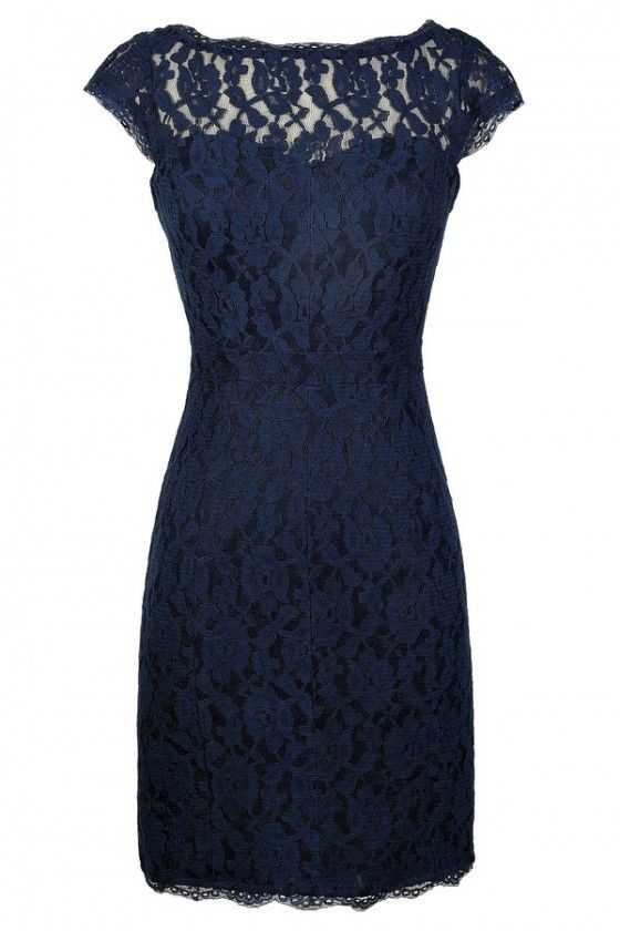 Lace Fitted Dress