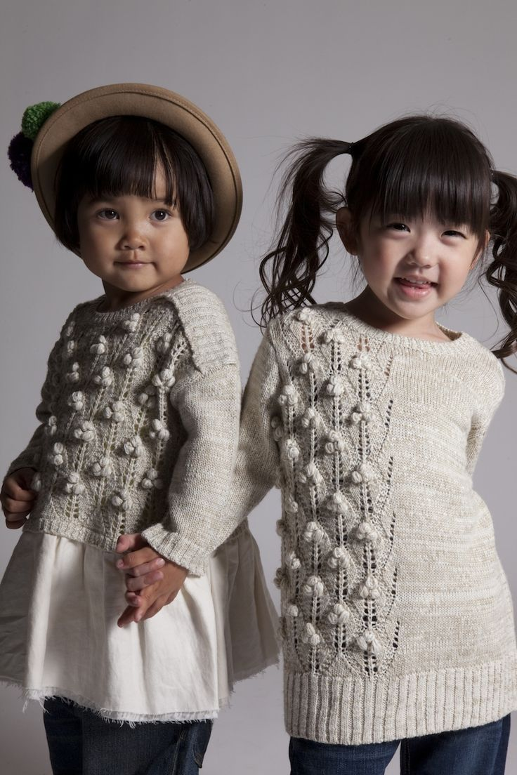 Inspiration: sweater on right- sew from two larger sweaters? ami amie