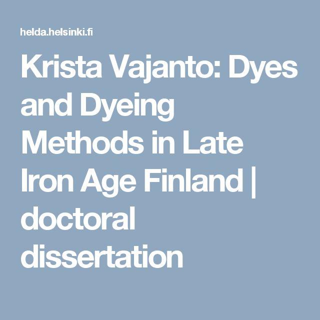 dissertation websites