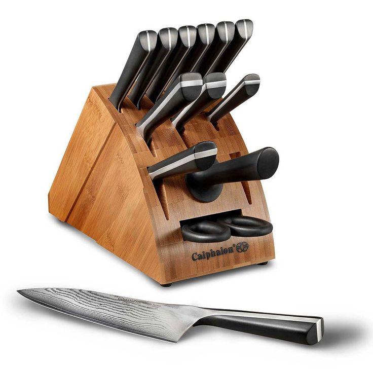 Calphalon Katana Series 14-pc. Cutlery Set, Grey
