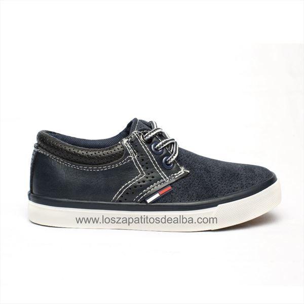 Zapatillas Niño Azul Marino modelo Tony
