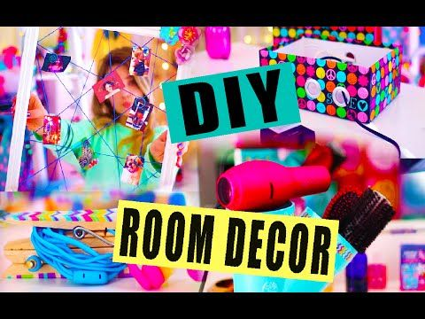DIY ROOM DECOR   Popular Tumblr Inspired Decor! Easy + Cheap! - YouTube