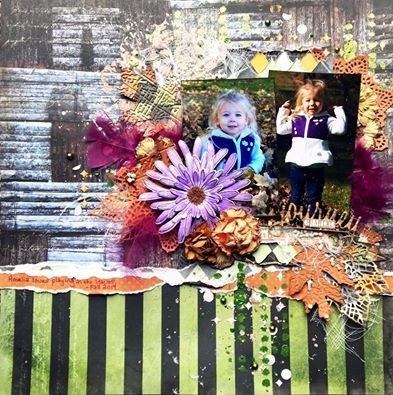 Good morning!     We have such talented kit club members!   Today I would love to share a layout from Jennifer Neuber Walth using the Scrap...
