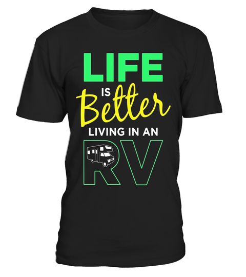 "# Life is Better Living in an RV Retired Traveller T-Shirt .  Special Offer, not available in shops      Comes in a variety of styles and colours      Buy yours now before it is too late!      Secured payment via Visa / Mastercard / Amex / PayPal      How to place an order            Choose the model from the drop-down menu      Click on ""Buy it now""      Choose the size and the quantity      Add your delivery address and bank details      And that's it!      Tags: Maybe you are on the road…"