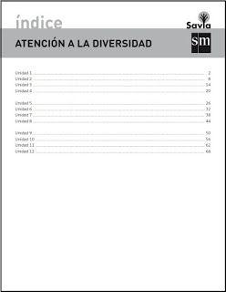 Colegio José Calderón: Atención a la diversidad.Matemáticas 6º E. Primaria. Proyecto Savia. Editorial S.M.