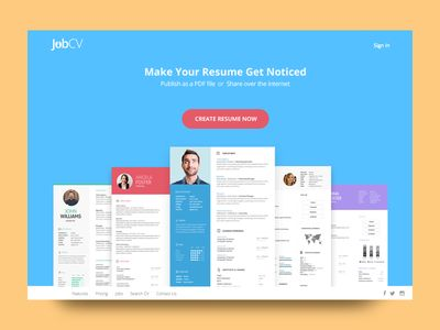 The 25+ best Online resume builder ideas on Pinterest Resume - resume website template