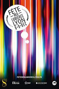 Affiche de la Fête des lumières 2013, Lyon, France