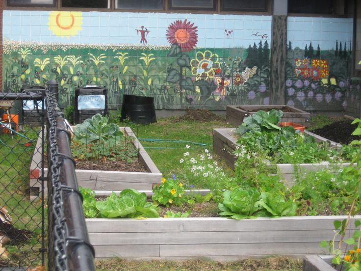 27 best images about school beautification project ideas for Mural garden
