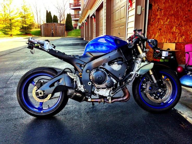 F/S F/T 2007 GSXR 600 12K Miles - http://get.sm/s7AuL9R #wera Suzuki