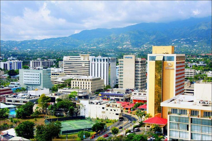 Jamaica capital city | new kingston jamaica location of kingston shown within jamaica inline