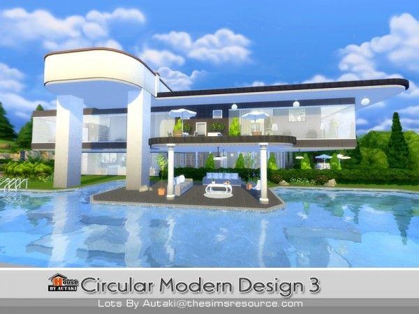 Sims 4 - Small Modern House Games Pinterest Small modern - sims 3 wohnzimmer modern