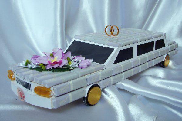 Подарок из конфет - лимузин