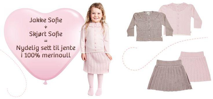 Jakke Sofie + Kjole Sofie :)