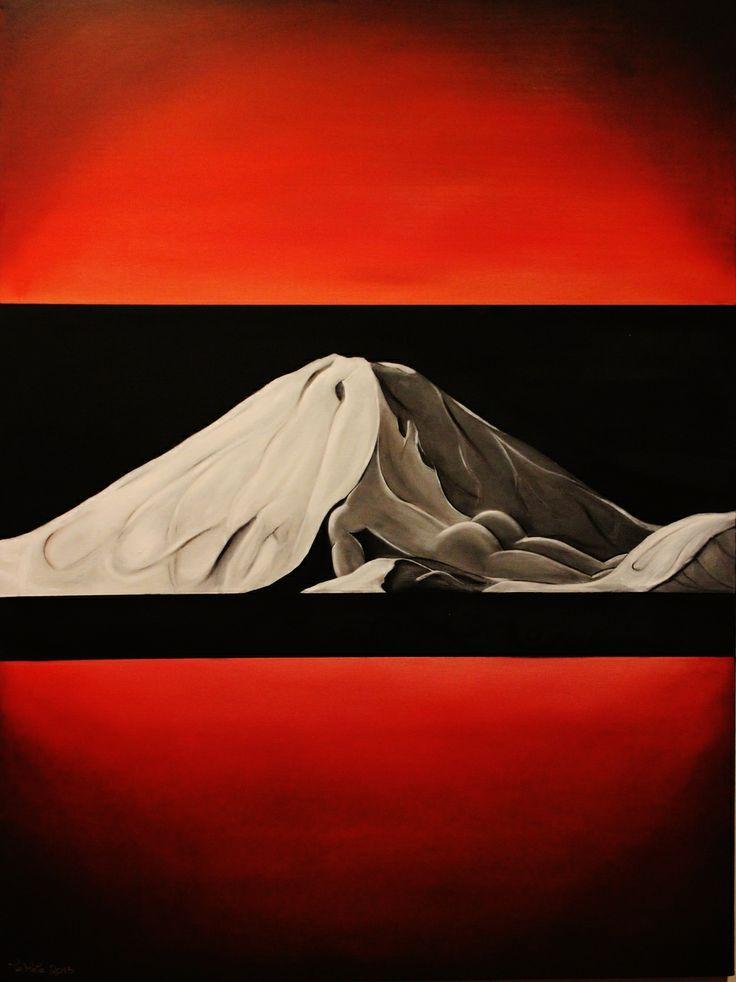 Ngauruhoe (Oil on Canvas) SOLD