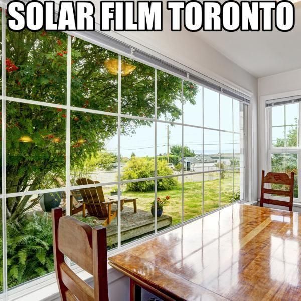 Solar Film Toronto Solar Lower Lights Solar Windows