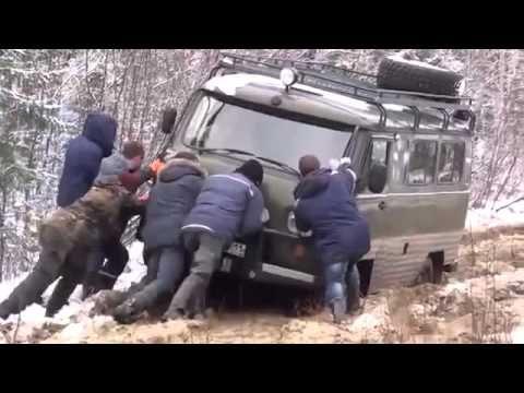 UAZ-469 vs UAZ-452 Extreme 4x4 Off-road in Siberia