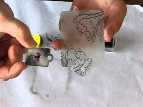 Kaszazz Bellish Ezy-Press Shrinky Dink Tag - YouTube