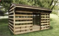 All Wooden Garden Sheds - North Country Sheds - Ottawa Shed Builders, Horse Barns, Ontario Sheds, custom garages