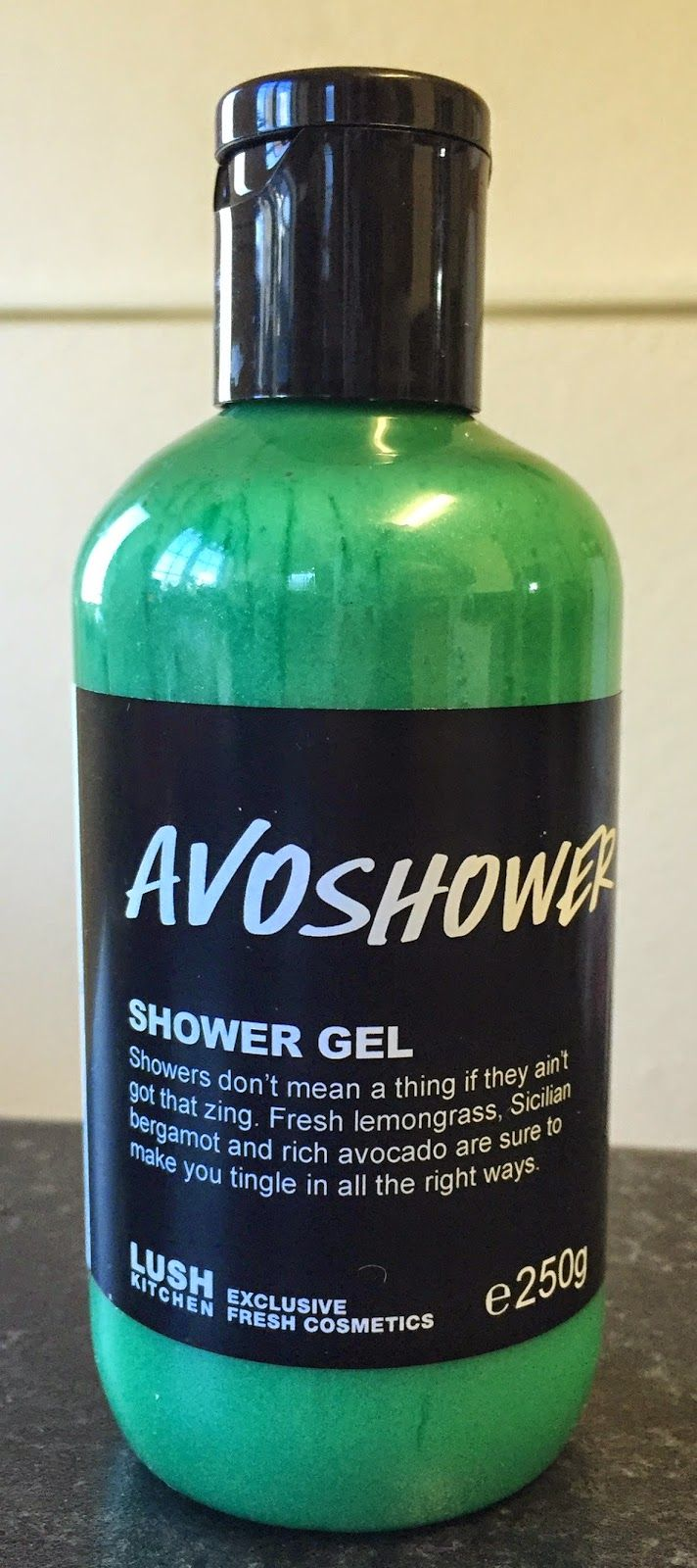 Avoshower Shower Gel - Limited Edition for Windsor, ON Lush store... great citrusy smell and wonderful stress relief at the end of the day OR to start your morning right :)