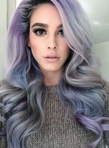 Funky Winter Hair Colors