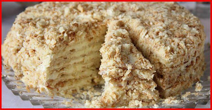 """Tortul """"Svetlana"""" este un desert rapid, foarte simplu de preparat, pe care îl poate pregăti orice gospodină, chiar și dacă are puțină experiență. Această rețetă nu se prepară la cuptor, ci în tigaie, de aceea este ideală pentru cei ce nu au cuptor. Acest tort de casă este un desert delicat, foarte gustos și moale, perfect pentru ceai. INGREDIENTE PENTRU BLATURI -3 pahare de făină -1 cutie delapte condensat -1 ou -1 linguriță de bicarbonat de sodiu -1 linguriță de oțet (stingeți bicarbonatul…"""