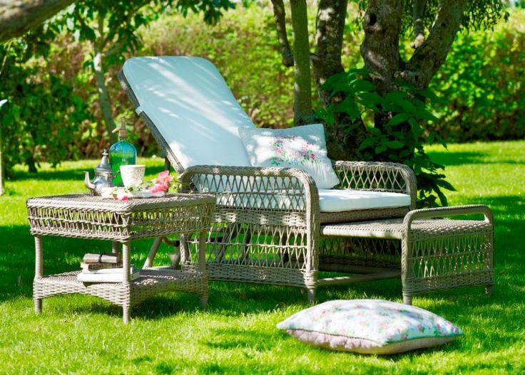 Meble ogrodowe. ASHLEY zestaw romantycznych mebli ogrodowych Georgia Garden. Design: Sika-Design Team.