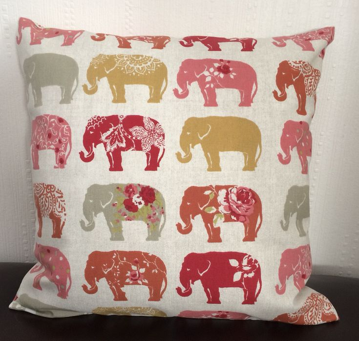 A personal favourite from my Etsy shop https://www.etsy.com/uk/listing/591650295/elephant-cushion-cover