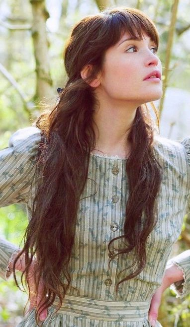 I loved Gemma Arterton in the adaptation of the Thomas Hardy novel Tess of the D'Urbervilles. After seeing it, I really began envisioning her as Lizzy Ainsworth.