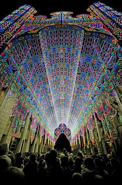 Festival of Lights in Belgium