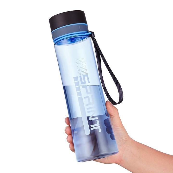Free Shipping 600//800ml Bpa Free Leak Proof Water Bottle Portable Sports Climbin