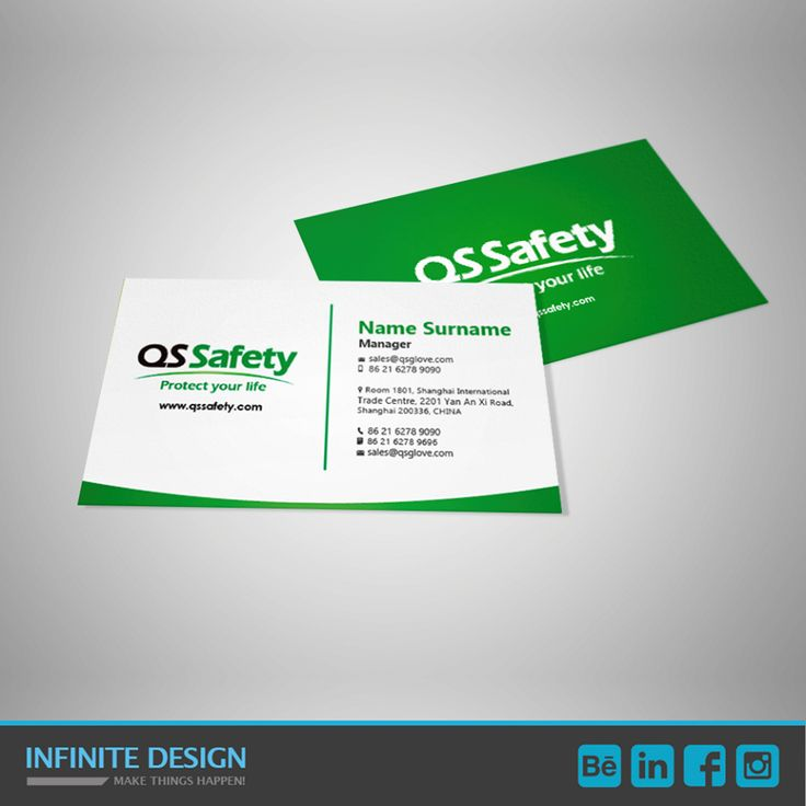 24 best visual identity images on pinterest corporate design we designed business card for qs safety a chinese manufacturing company that handles safety reheart Images