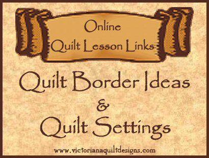 46 best Quilt Border Ideas, Online Lessons & Tutorials images on ... : quilt settings - Adamdwight.com