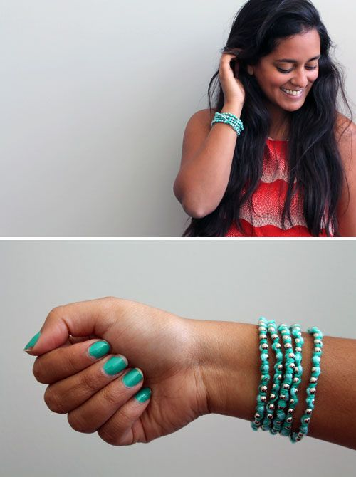 How to Make 3 Super Simple Wrap Bracelets | Brit + Co.