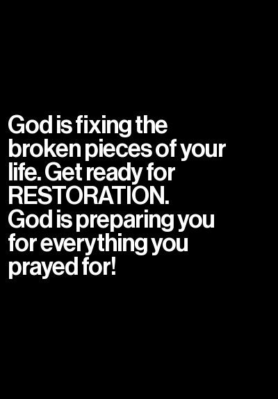 God is preparing you for everything you prayed for!